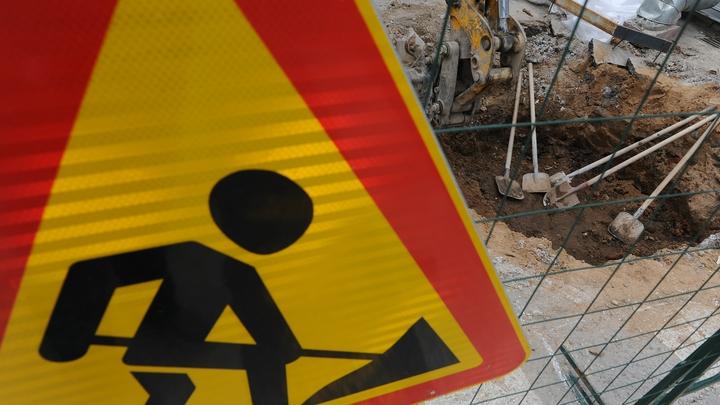 В Ленинском районе Челябинска на месяц перекрыли дорогу
