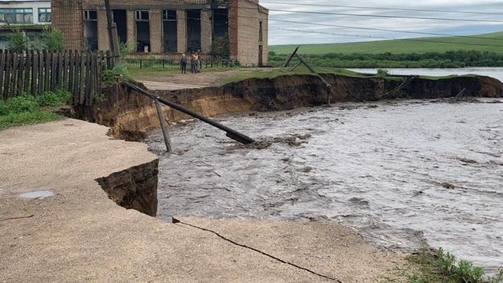 Уходим под воду: ситуация с паводками ухудшилась в Забайкалье после прошедших ливней