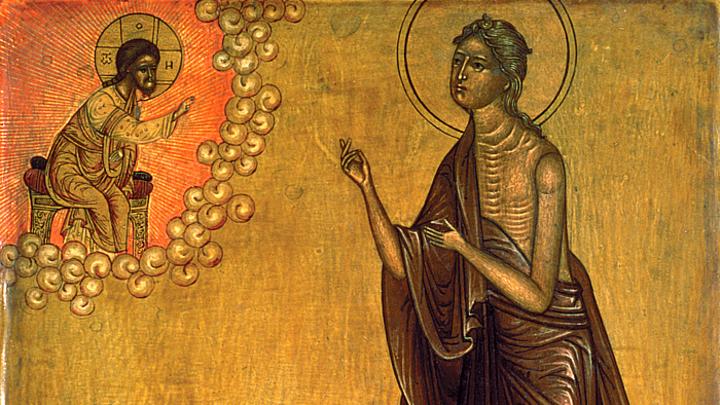 Преподобная Мария Египетская. Православный календарь на 14 апреля