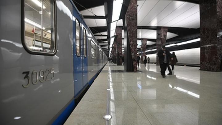 Движение поездов красной ветки метро приостановлено от 'Парка культуры' до 'Спортивной'