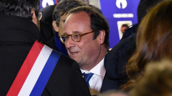 Олланд призвал Францию и ЕС возглавить атаку против России