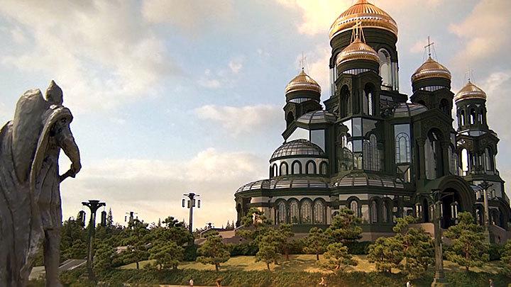 От Крымского моста – к главному армейскому храму