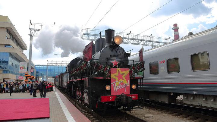 2 мая в Краснодаре прибудет легендарный ретро-поезд Победа