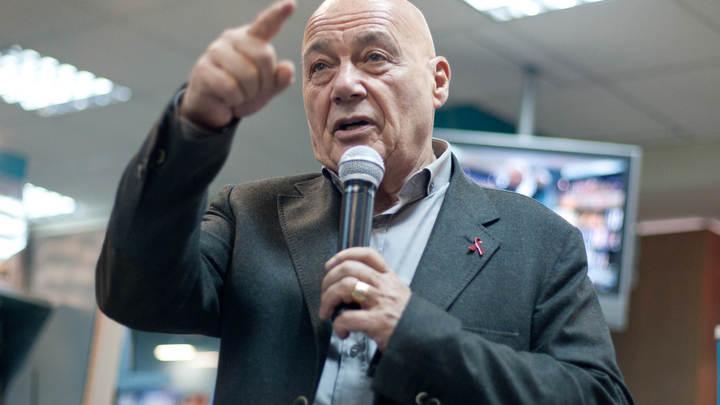 Познер обвинил лидера рок-группы Ленинград Шнурова в провале интервью