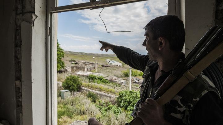 Военкор показал Адское ущелье, где уничтожили элитный азербайджанский спецназ
