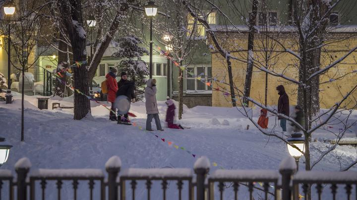 Москвичам обещали 20-градусные морозы