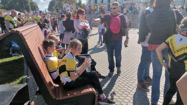 Как проходят народные гуляния в День города Владимир 11 сентября