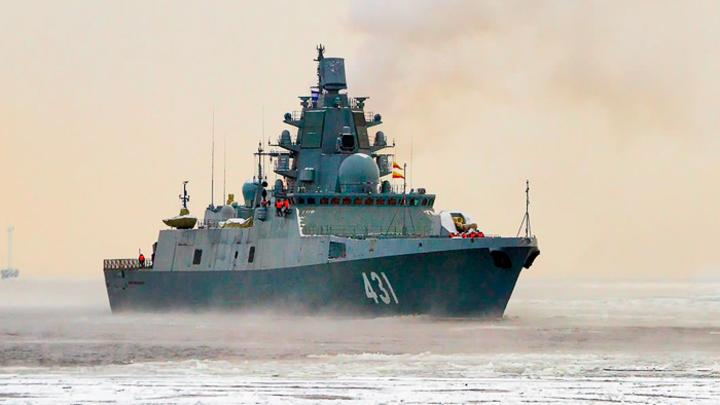 Вооружен и очень опасен: Фрегат «Адмирал Касатонов» начал госиспытания