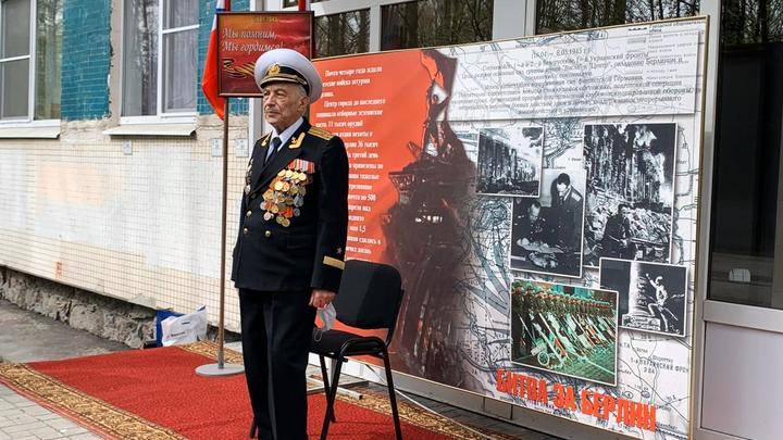 Личный Парад Победы для 101-летнего русского ветерана: Военные моряки сделали подарок герою