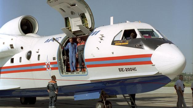Самолет-амфибия Бе-200 получит российские двигатели вместо украинских в 2021 году