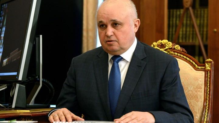 Не превращаться в тело: Кемеровский губернатор назвал залог здоровья для граждан