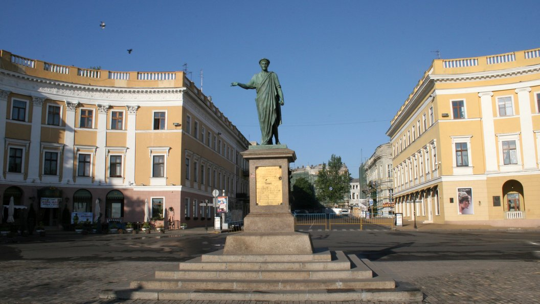 Одесситы готовы идти на смерть, чтобы отстоять памятник Екатерине Великой