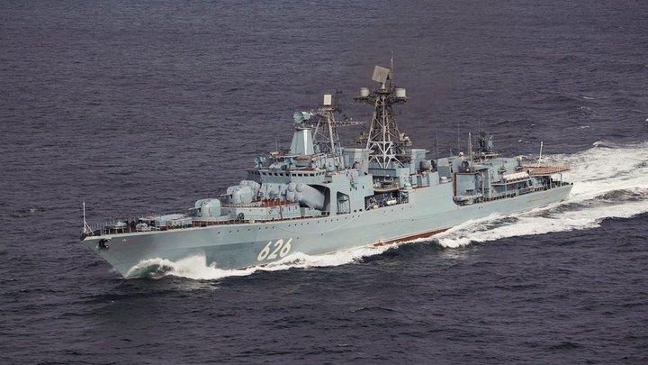 Отряд русских кораблей после казуса с Испанией приняли в Алжире