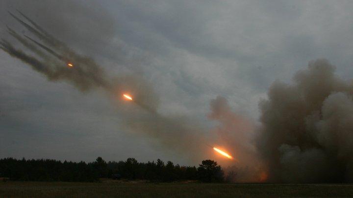 Украинские военные подогнали «Ураган» кАзовскому морю