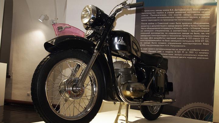 Ковровские мотоциклы выставили в Кремле! Суздальском
