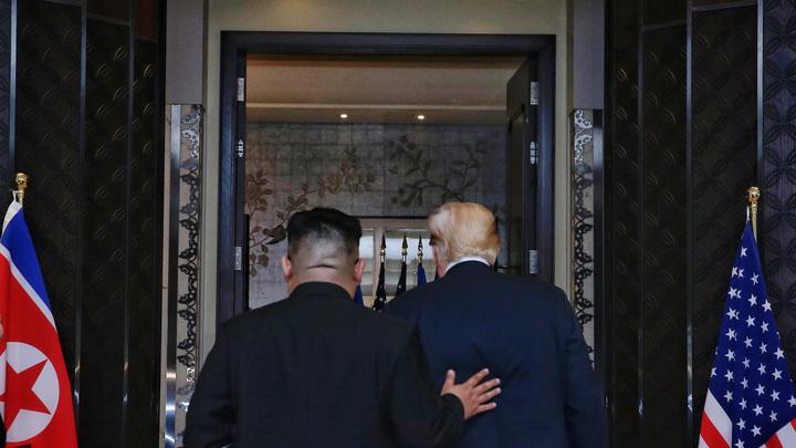 «Элегантный способ»: Трампу везут из КНДР новое письмо от Ким Чен Ына