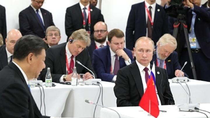 Си Цзиньпин напомнил Путину о нерушимой дружбе на крови: Боролись бок о бок