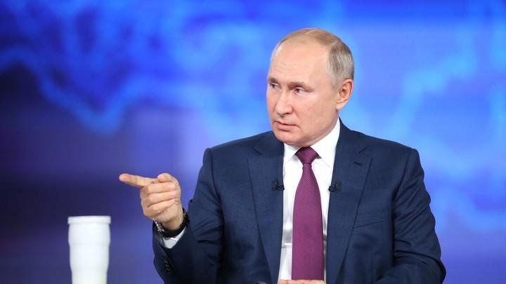 Путин рассказал, как сложится судьба сборной России после провала на Евро-2020
