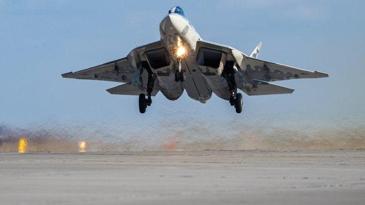 """""""Встреча вышла неожиданной"""": Су-57 оглушил и ослепил радары США"""