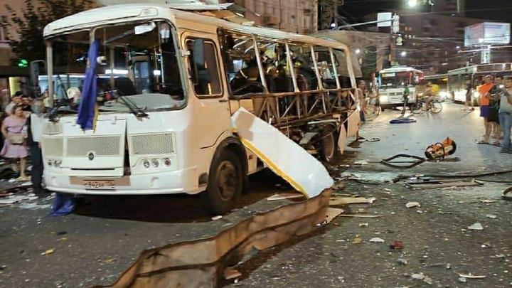 СКР не стал опровергать версию о взрывном устройстве, ставшем причиной взрыва автобуса в Воронеже