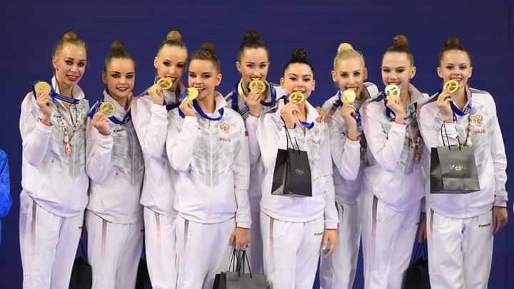 Подмосковные гимнастки везут шесть медалей с чемпионата Европы