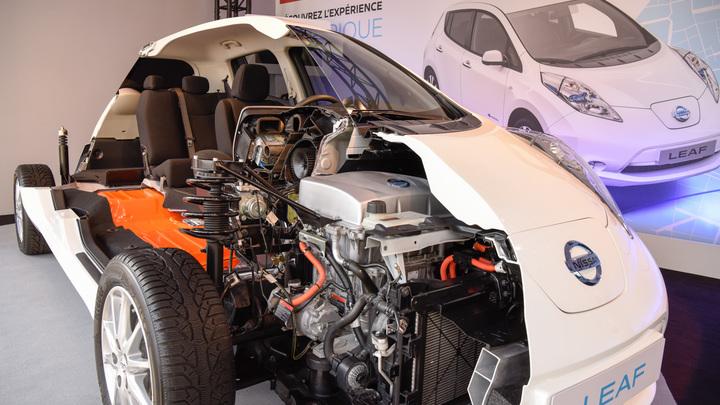 Новый Nissan Leaf получит полуавтоматическую систему ProPILOT