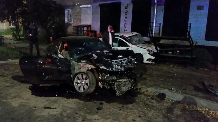 В Дзержинске в результате столкновения двух автомобилей погиб человек