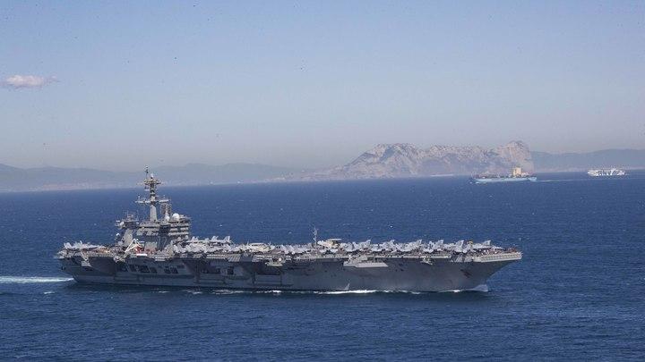 ВРоссии поняли, что чувствуют вПентагоне, отправляя авианосцы наБлижний Восток: Иран угрожающе надвигается