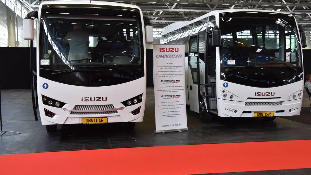 Isuzuзабирает производство автобусов из Украины в Россию