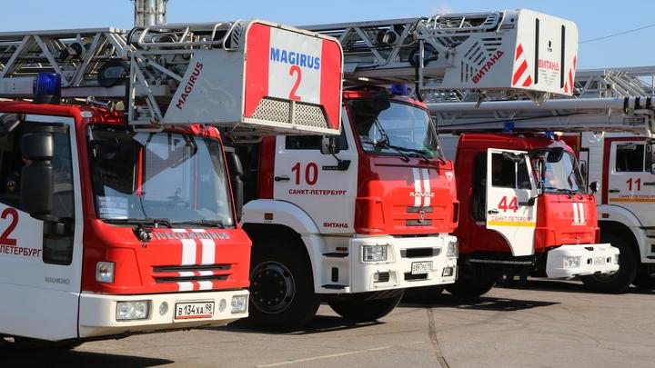 Стало известно о пострадавших в пожаре на Лиговском проспекте