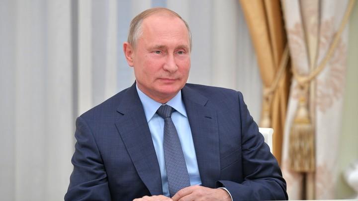 Путин назвал источником своей жизненной энергии встречи с успешными профессионалами