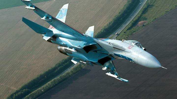 Су-27 во время планового полёта рухнул в Чёрное море - источник
