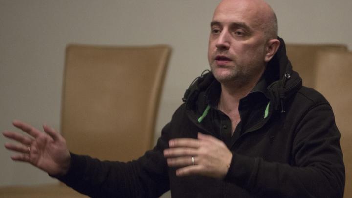 СМИ: Писателю Захару Прилепину отказали в ночевке в парижском отеле
