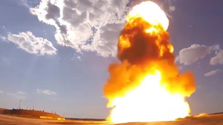 Огненная стрела в действии: Видео испытаний новой русской системы ПРО опубликовано