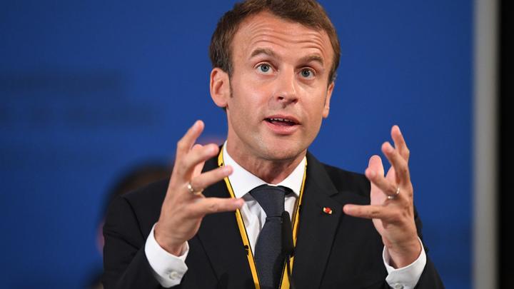 Макрон раскритиковал французскую систему социальной поддержки