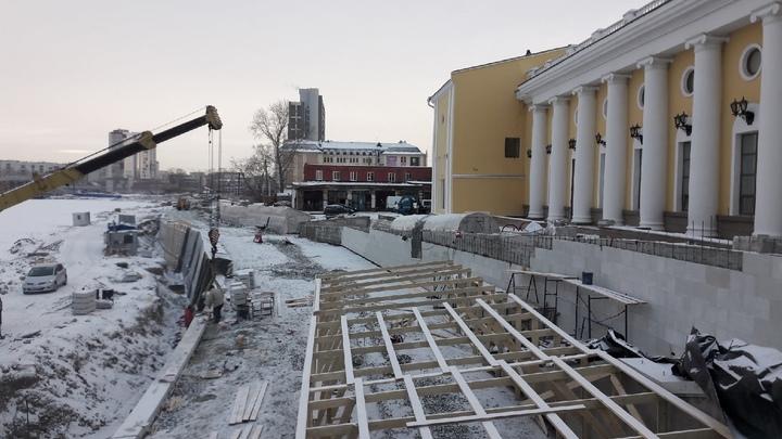 Мэр Челябинска будет отвечать за срыв реконструкции набережной реки Миасс