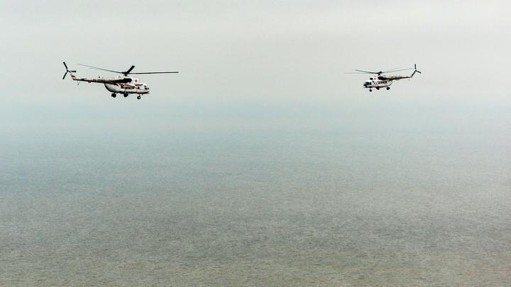 Стало известно о техническом состоянии столкнувшихся в Красноярском крае вертолетов