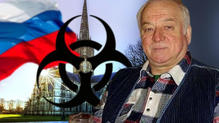 «Это кот Скрипаля»: Кто повесил флаг России на собор в Солсбери?
