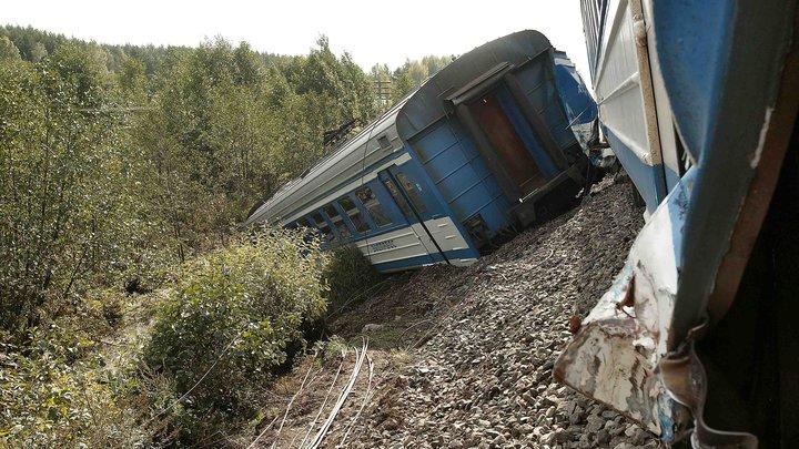 В Чехии столкнулись пассажирские поезда, есть пострадавшие