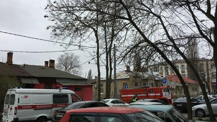 Из-за пожара в центре Ростова-на-Дону введен режим ЧС