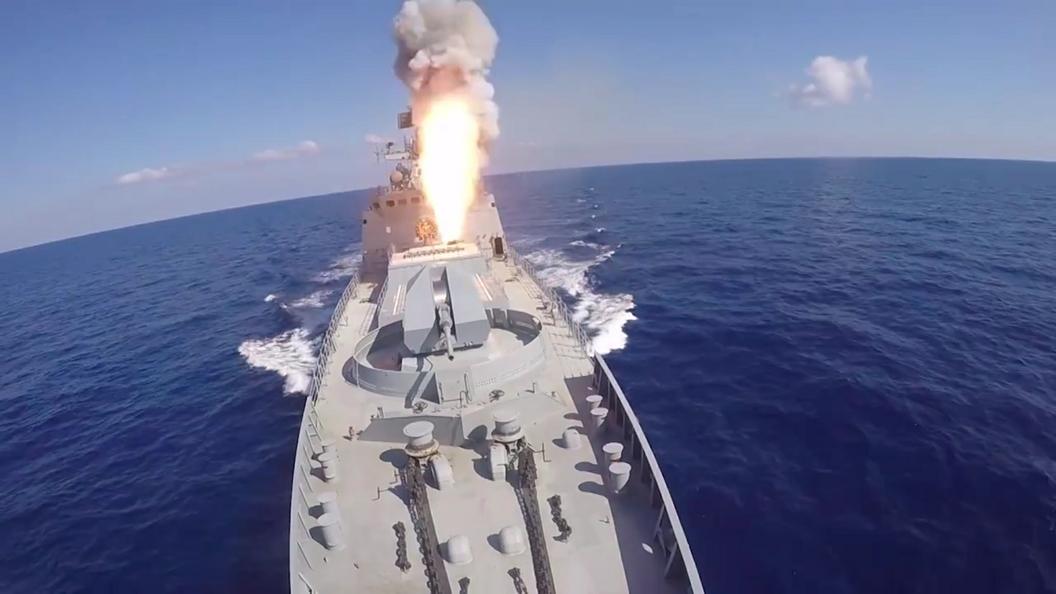 В Сирию из Крыма направился новейший ракетный фрегат Адмирал Эссен