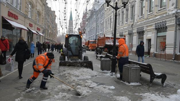 В Москве побит температурный рекорд этой зимы