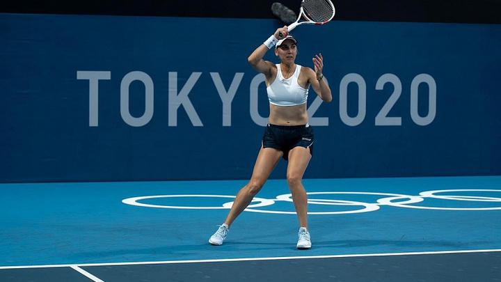 Кубанская теннисистка Елена Веснина вышла во второй круг Олимпиады