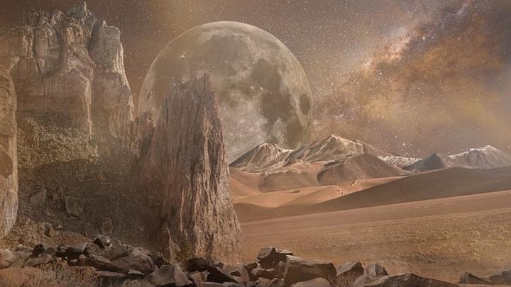 Ученые нашли на Марсе самый древний вулкан Солнечной системы
