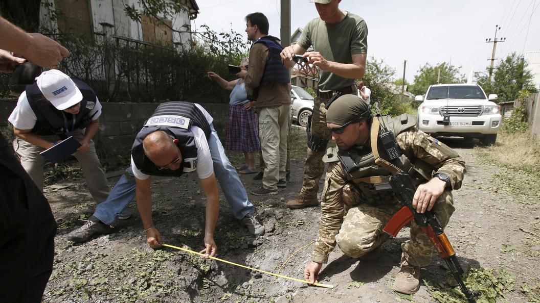 Украинские каратели готовили убийствонаблюдателей ОБСЕ в Луганске