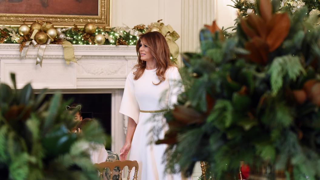 Белый дом назвал фальшивкой публикацию Vanity Fair оМеланье Трамп