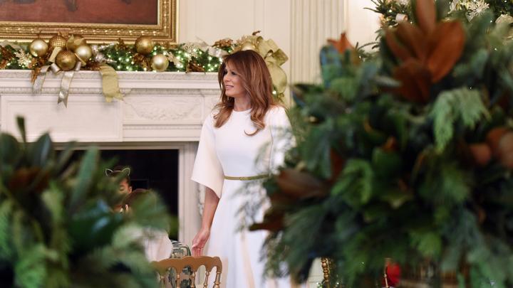 Белый дом не оценил статью о девичьих терзаниях Меланьи Трамп