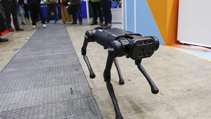 Китай на заявления США показал отжимающихся роботов. Их десятки, и они умные: Где лого Скайнет?