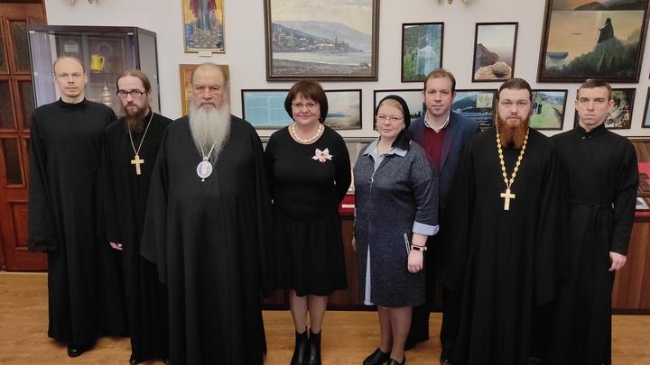 Патриарх наградил орденом генерального директора ВСМЗ Светлану Мельникову