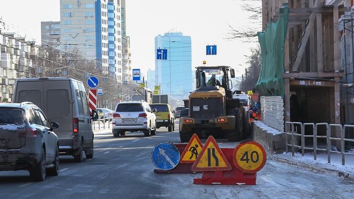 В Челябинске за ночь собрали 257 тонн снега